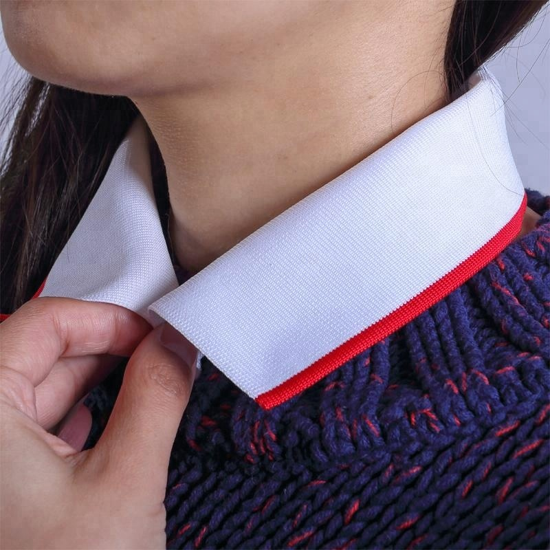 New fashion design knit collars for polo shirts sale