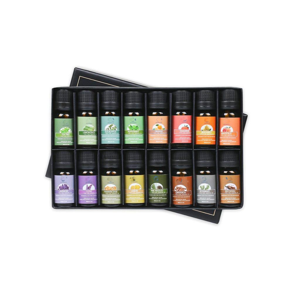 OEM/ODM essential oil 100% pure and natural massage oil Aromatherapy Gift set 16 ottle sale