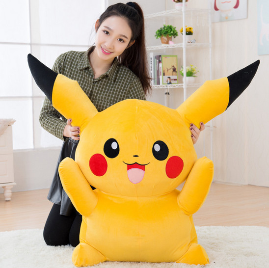 boys and girls pikachu plush toys pokemon kids dolls wholesale soft doll for sale