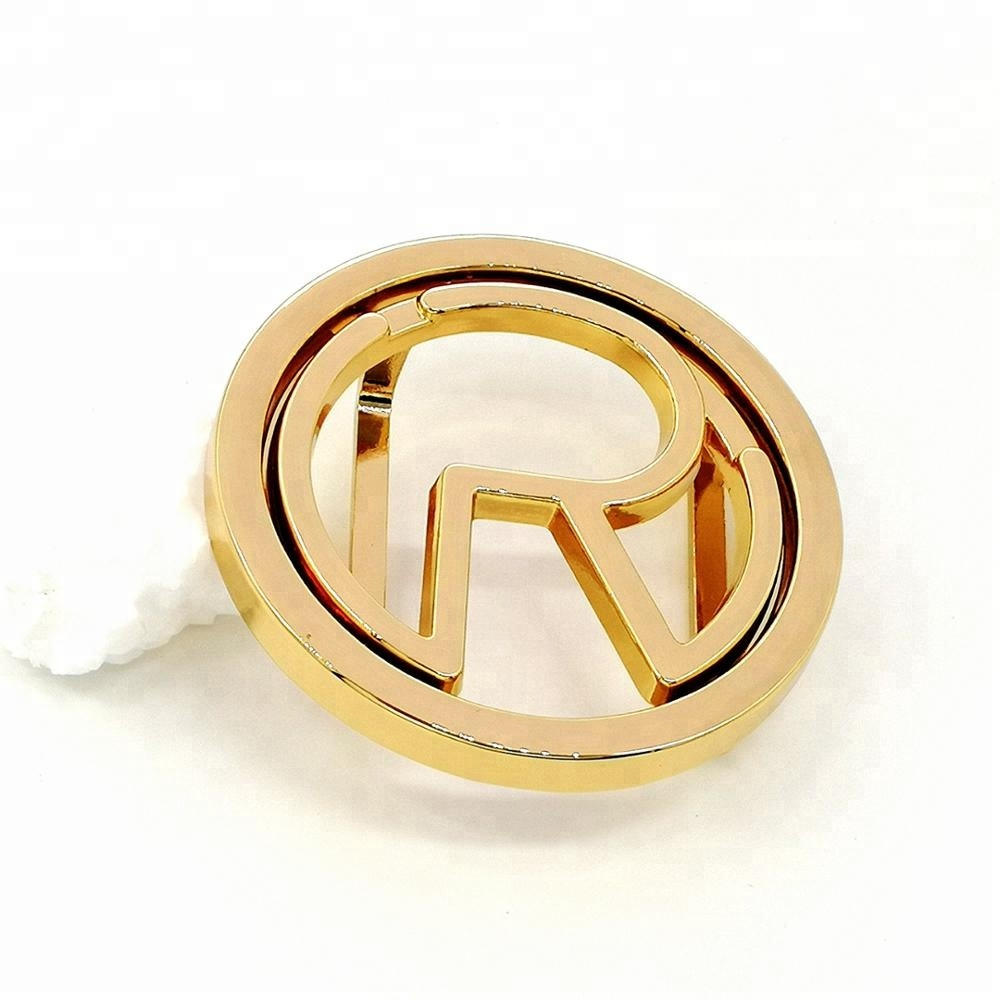 Top Quality Shiny Gold Custom Metal Belt Buckle for sale