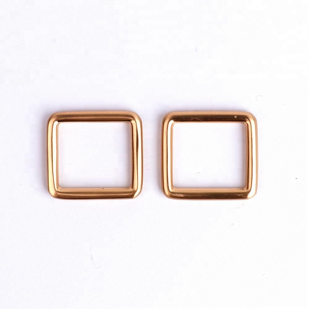 20mm Inside Width Square Metal Rings for Bags for sale