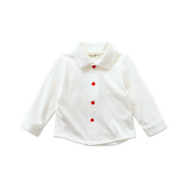 DB377 dave bella spring autum 100% cotton baby shirts baby tops for sale