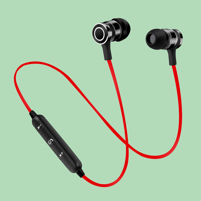 Factory Wholesale Cheap Magnetic Sport Blue tooth Wireless headphones with in ear design for sale