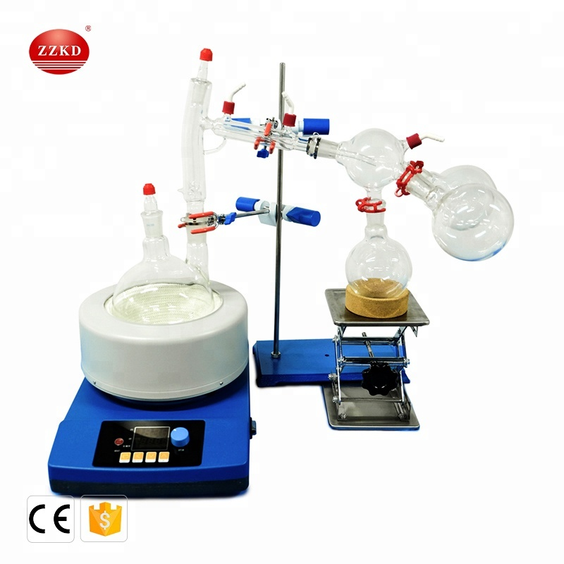 Short Range Path Fractional Distillation System for sale