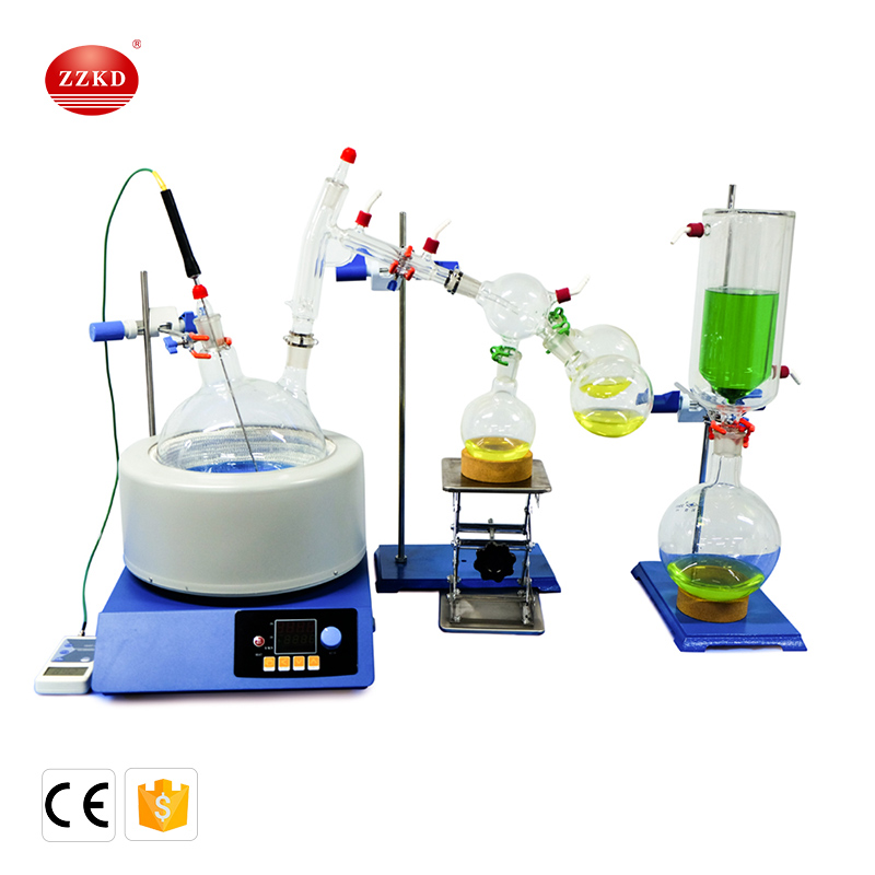 Digital Display 5L Laboratory Short Path Distillation for sale