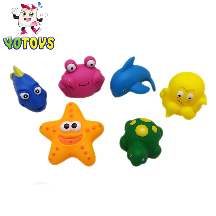 Factory wholesale Customized pink cute dolphin bath toy for kids baby for sale