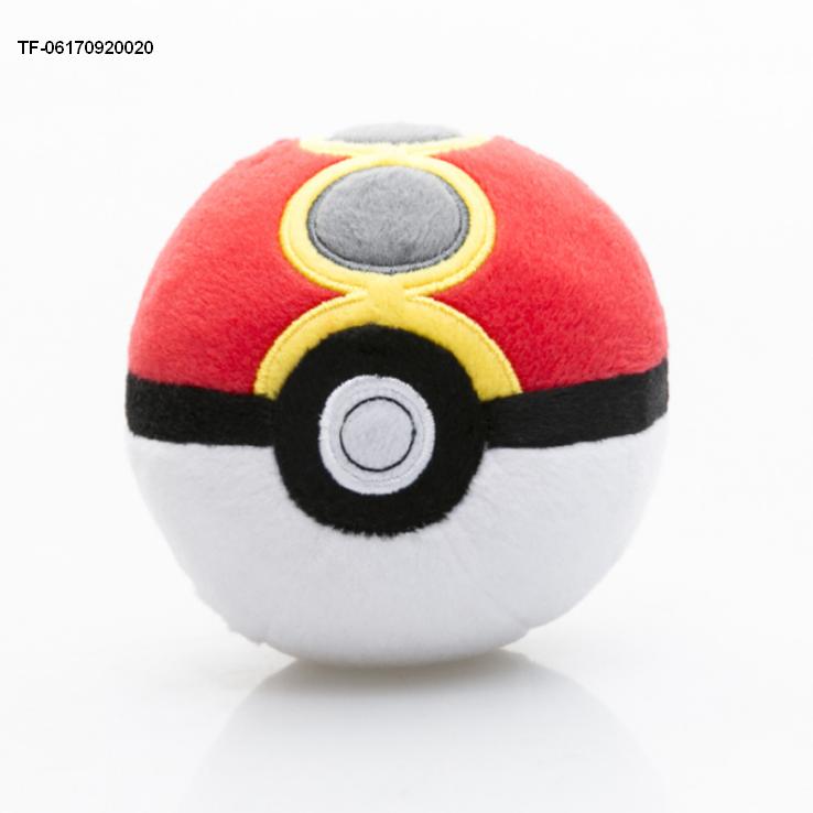 Pokemon Plush Toy Soft Stuffed Master Doll Poke Ball Throw Cushion Gift for sale