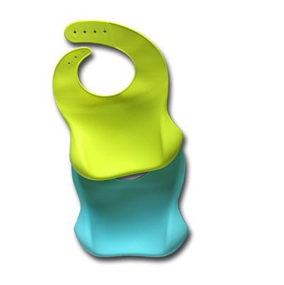 Silicone Bib Easily Wipes Clean Comfortable Soft Baby Bibs Keep Stains Off for sale