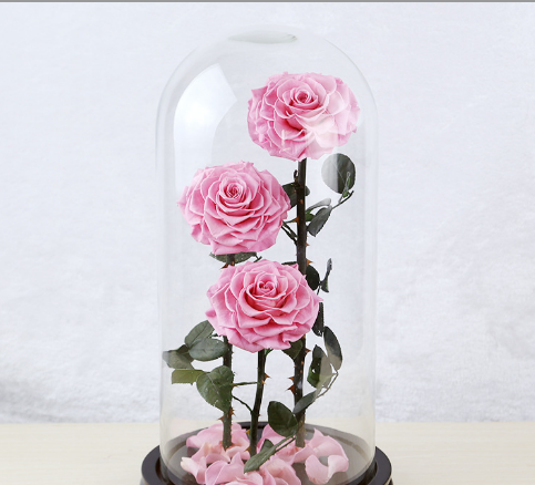 2018 Beauty and the Beast festival wedding decorative real wholesale forever rose for sale