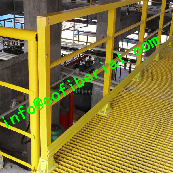 FRP SQUARE TUBE- Pultruded Tube with Corrosion and Impact Resistance
