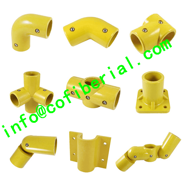 FRP HANDRAIL FITTINGS -Connecting and Securing