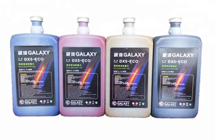 1000ml Roland Mimaki printer dx4 dx5 dx7 print head Galaxy eco solvent ink