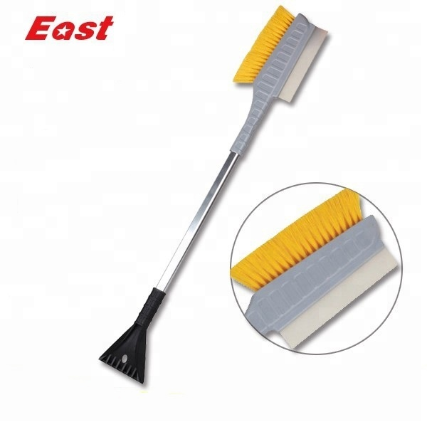 Telescoping Handle Abs Plastic Snow Brush With Foam Grip for sale