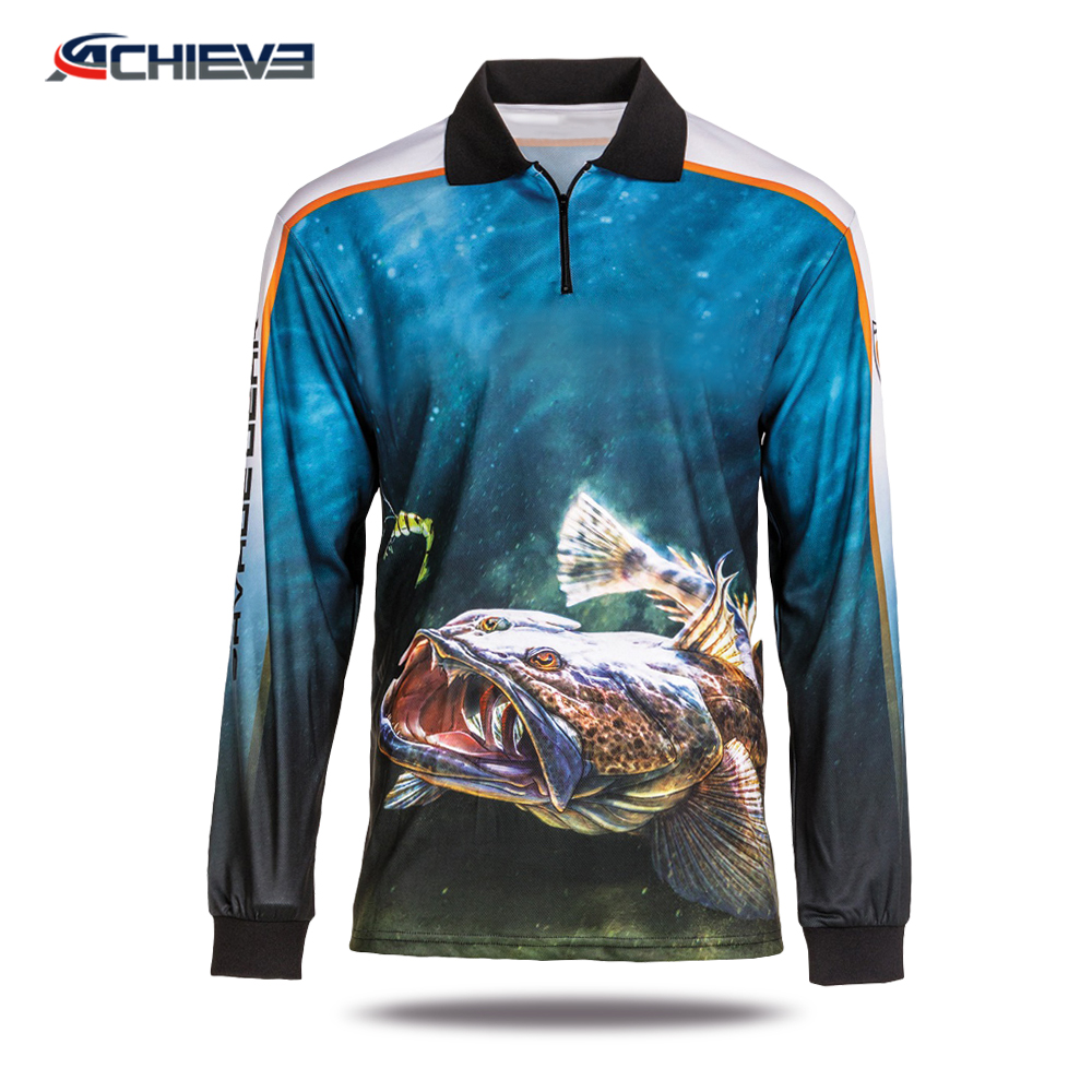 2018 New fishing wear sport fishing clothes fishing sweater for sale