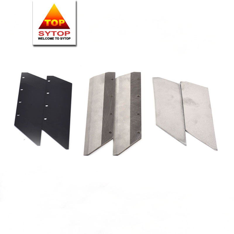 Wear and corrosion resistant stellite 6 blade for cutting carbon fiber