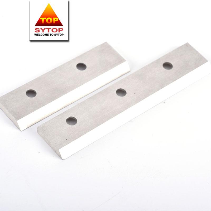 Abrasion resistance cobalt based alloy stellite 6k fiber cutting blade for textile