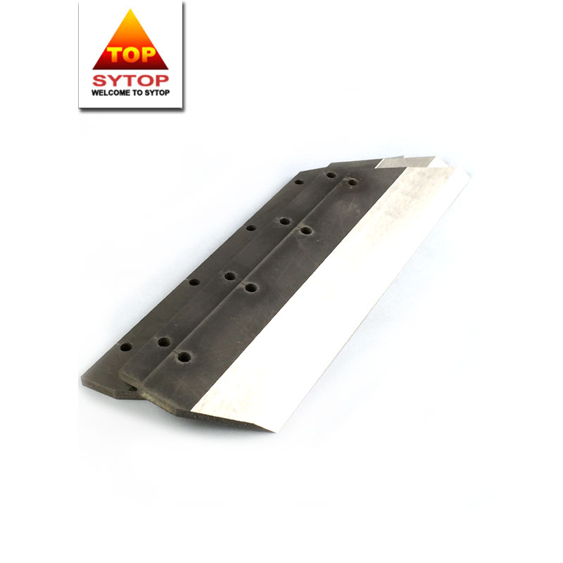 Wear and corrosion resistance CoCrW stellite blade for cutting chemical fibers