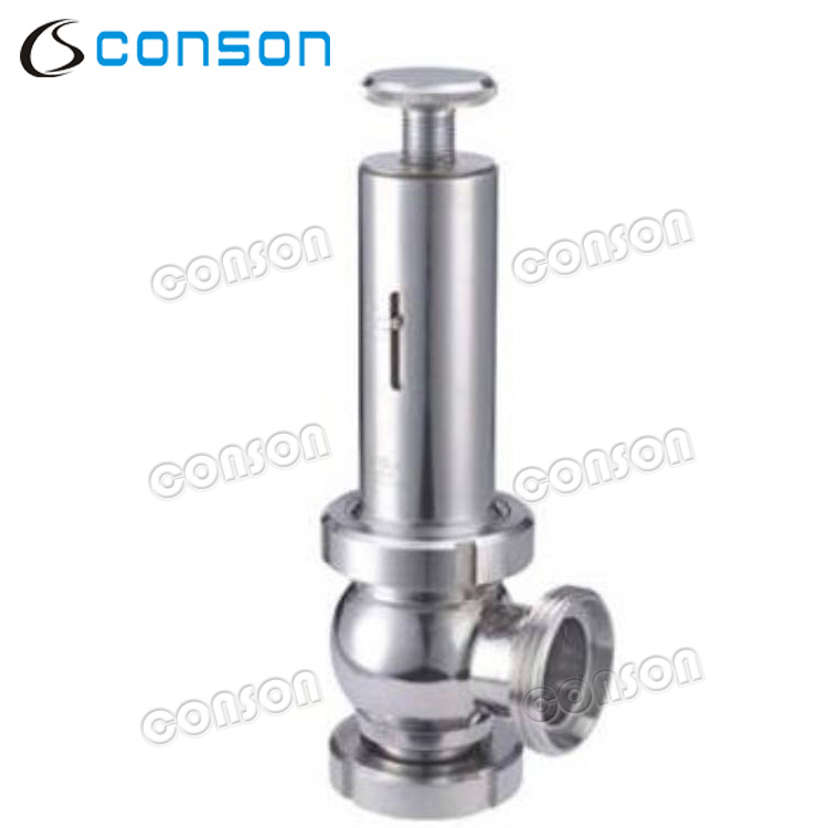 CONSON 316 stainless steel food grade safety valve