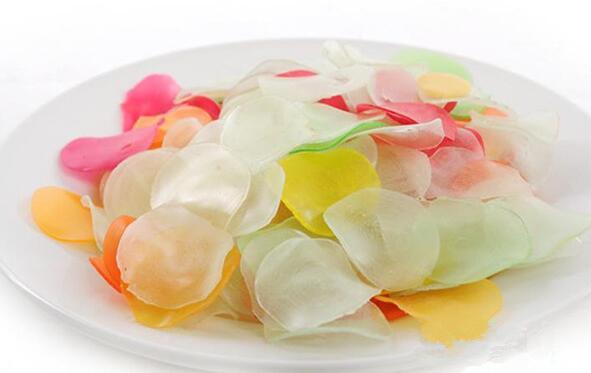 GAISHI/OEM Seasoned seafood snacks chips of colored Prawn Crackers