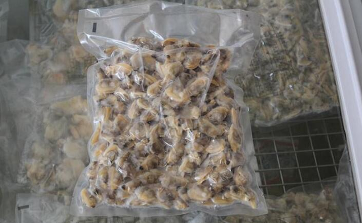 300/500PCS/KG Frozen Seafood Boiled Clam Meat Without Shell