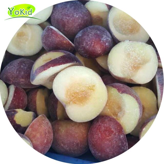 Frozen Fruit Bulk Organic IQF Plum Halves for sale