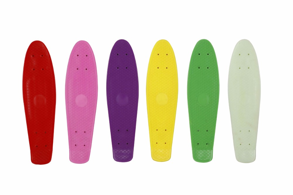 Plastic Skateboard 4 Wheels Cruiser Board for sale