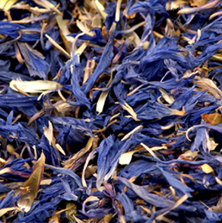 Shi Che Ju New Arrival Health Herbal Tea Dried Blue Cronflower Flower Petals for sale