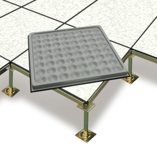 Anti-static PVC raised floor tile prevent static validly for building for sale