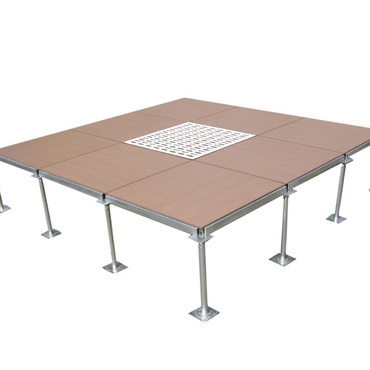 Factory High Quality Anti-static PVC Steel Raised Floor for Data Center Using for sale