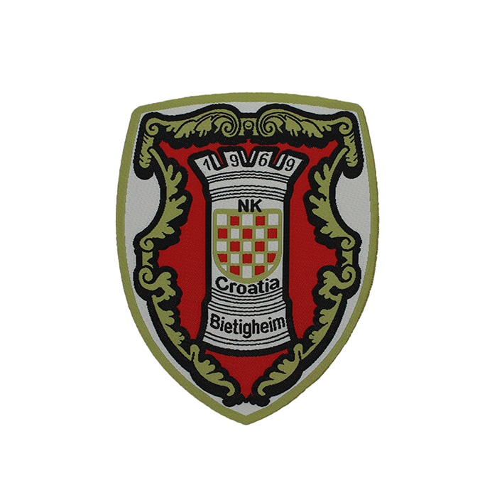 wholesale brand custom embroidered emblems sale