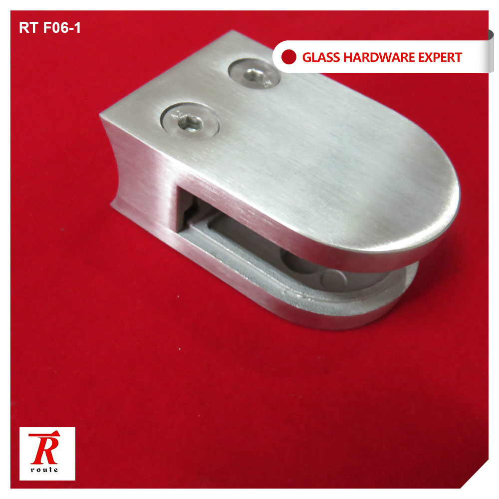 RT F06 Stainless steel glass clamp fix 8-12mm glass for sale