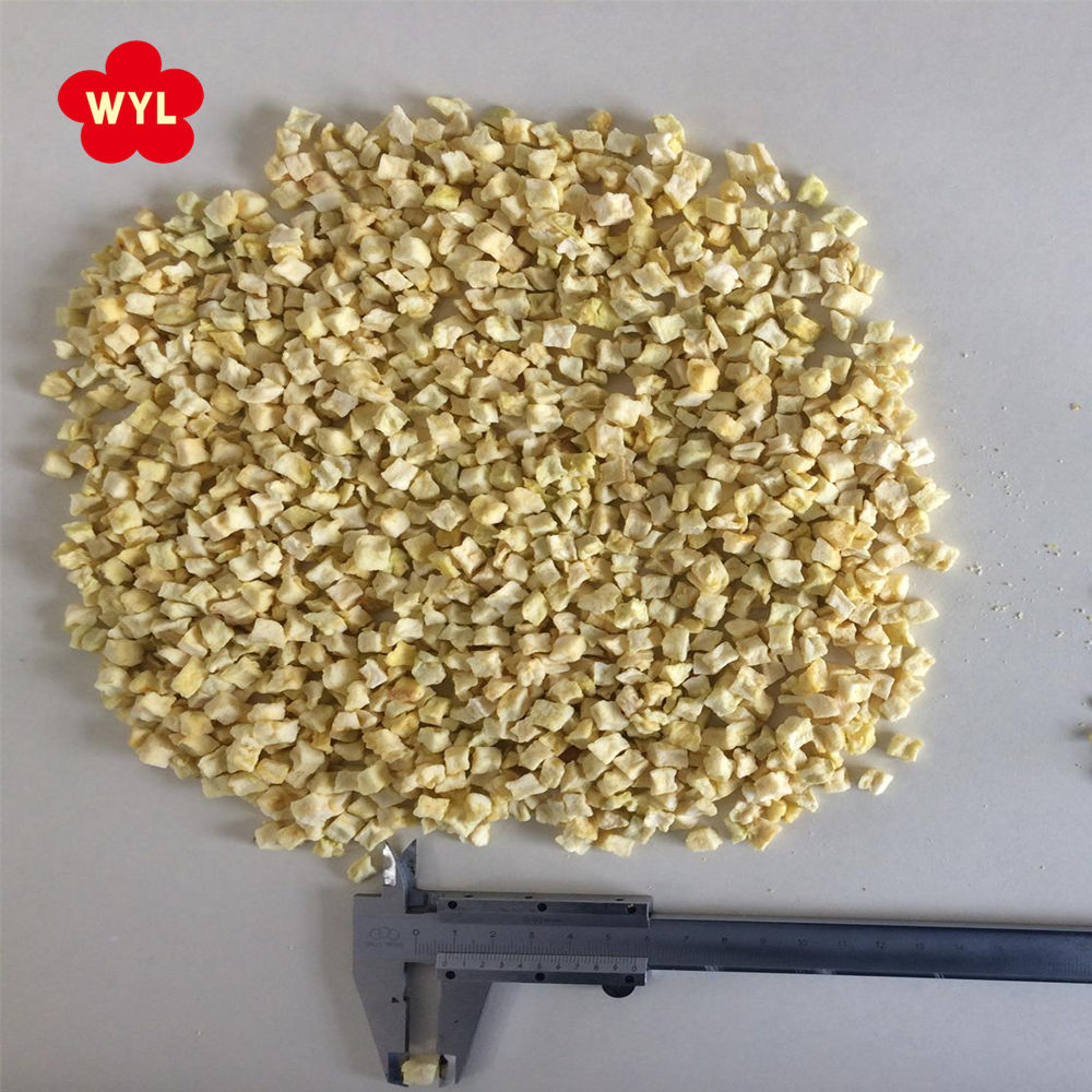 AD Air Dehydrated Diced Dry Apple for Fruit Snack sale