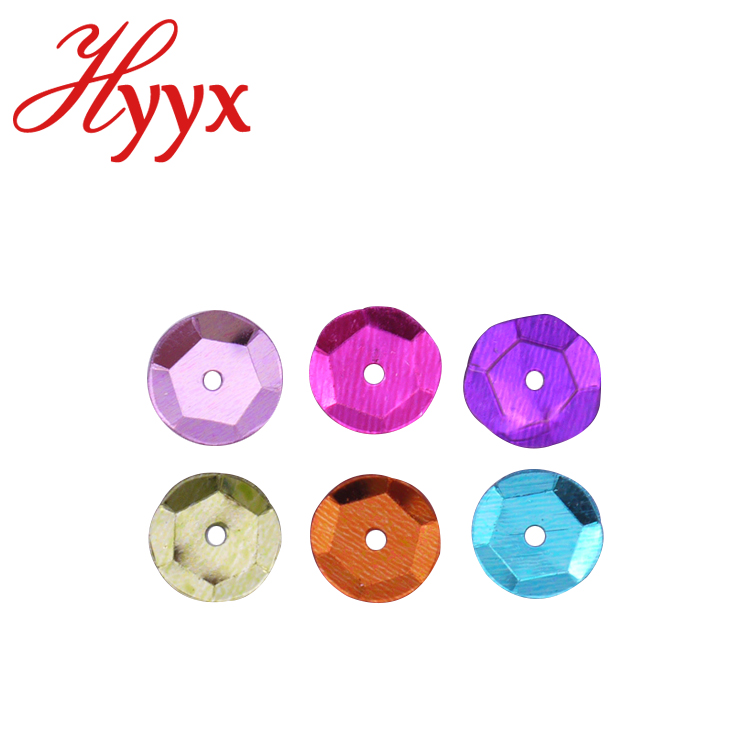 S35 HYYX 2mm 3mm 4mm 5mm 6mm 8mm 10mm 12mm 15mm flat round laser sequin 8mm