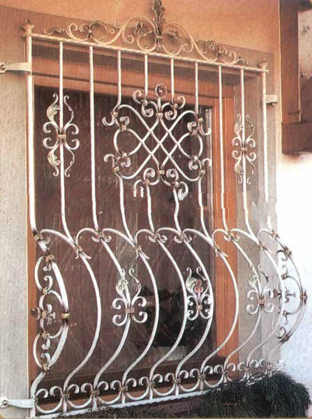 metal security window grates for sale