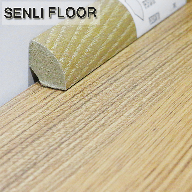 MDF Laminate Floating Flooring Accessories Scotia Moulding for sale