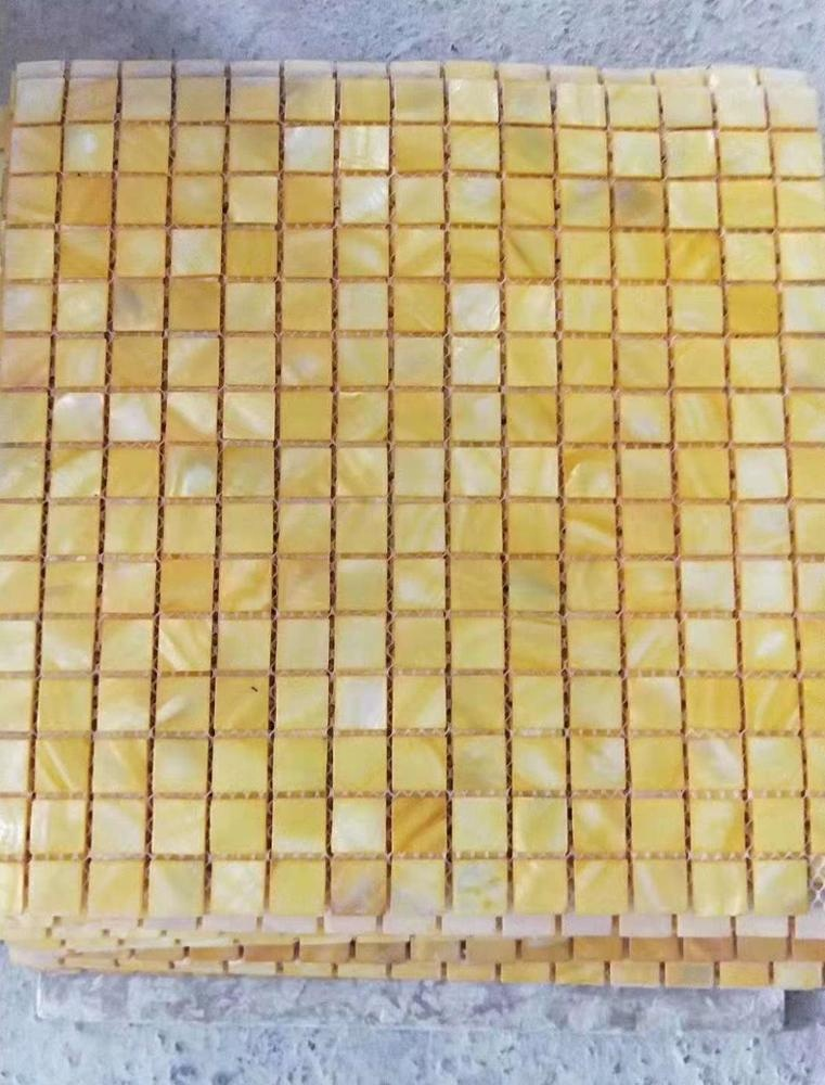2018 popular glass mosaics shell mosaic for sale