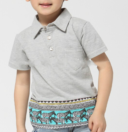 100% cotton cheap custom made breathable polo shirts for kids sale
