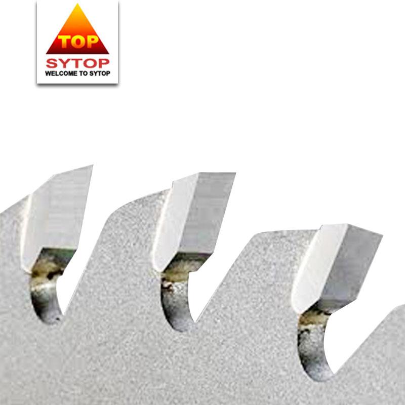 Timber cutting stellite vs tungsten carbide saw tips