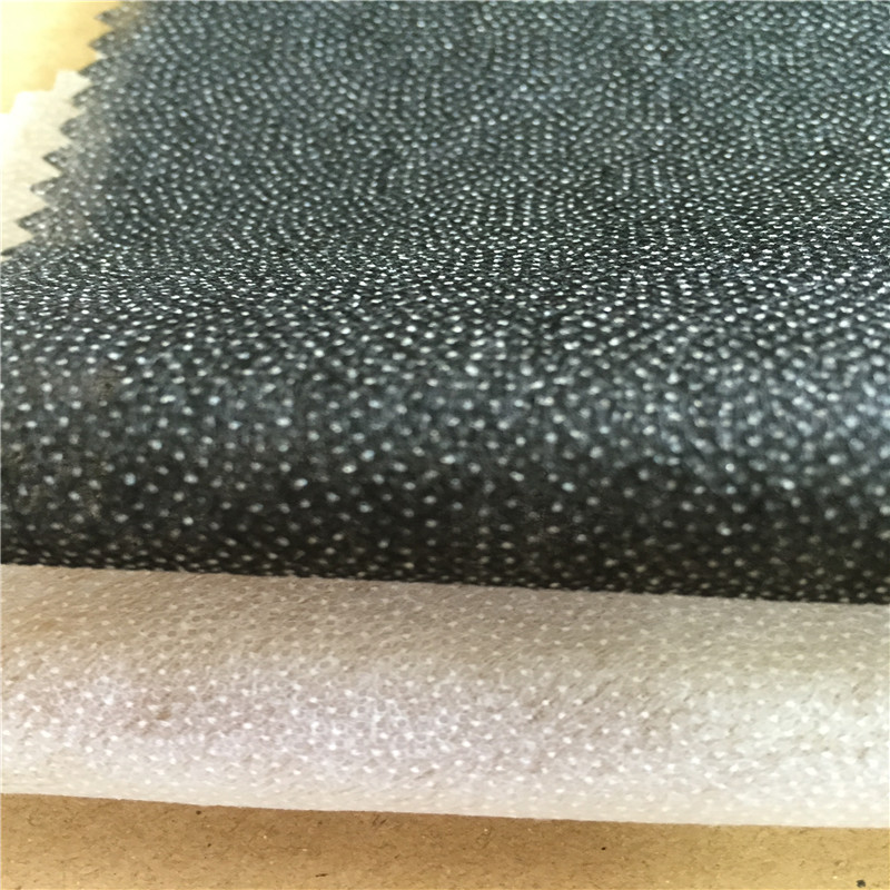 35gsm super white non woven fusible interfacing interlining backing for cloth or coat