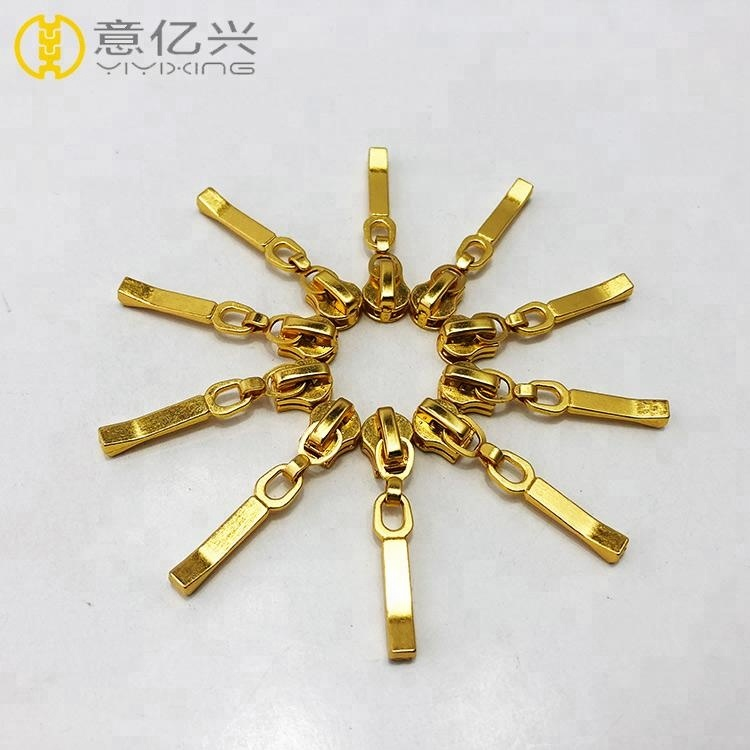 Fashion zipper head cast metal horse head and puller sale