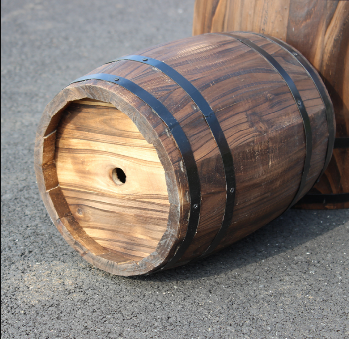 Home Decoration Use wood bar furniture for sale Barrel