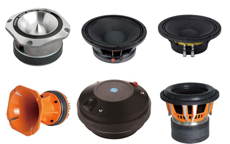 8M400 8 inch 8 ohms or 4 ohms car audio midrange woofer speaker midbass mid woofer for sale