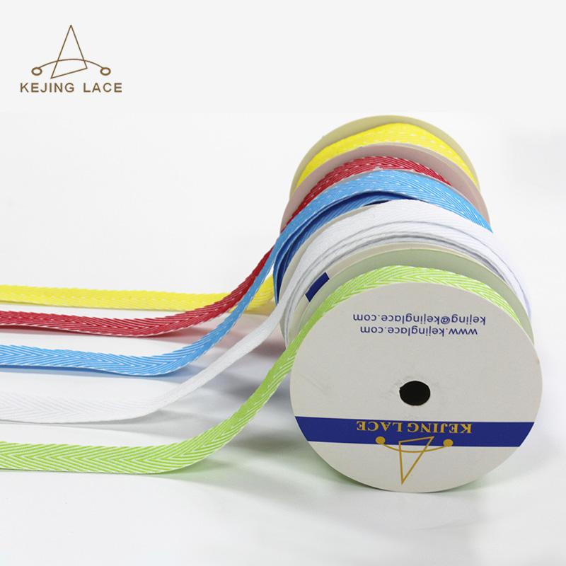 18mm Lurex Twill Jacquard Tape KJ734