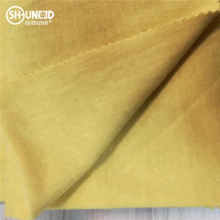 Stretch Soft Aramid Knitted Cut Resistant Fabric, Flame Retardant Lining for sale