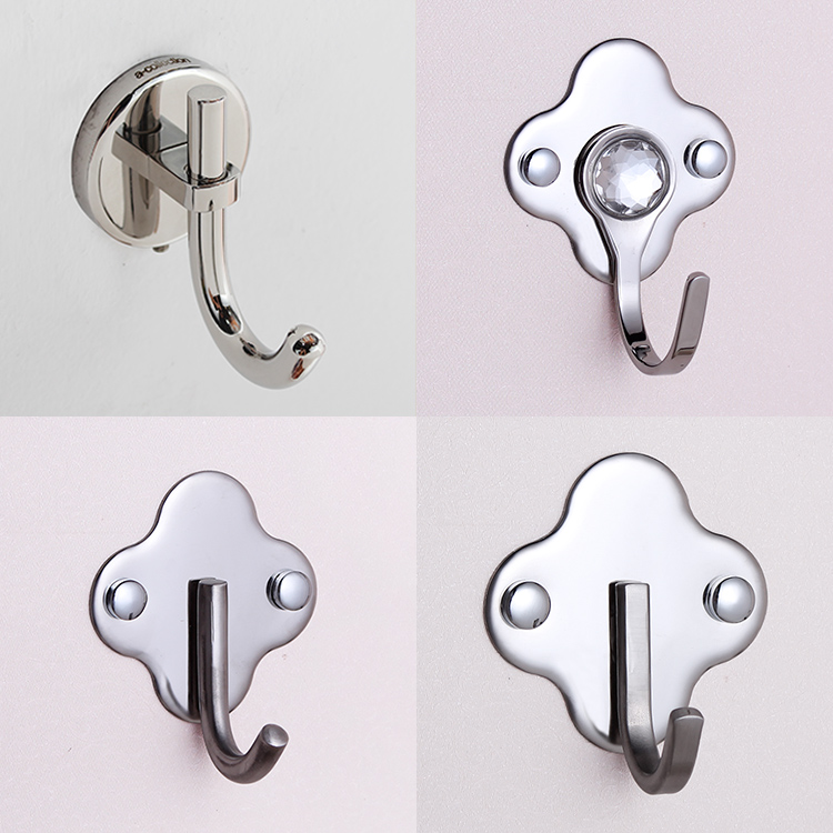 Wall Hanger Stainless Steel Clothes Robe Hook/Rode hook sale