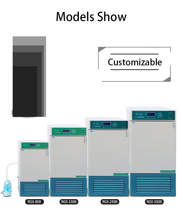 supplier lab artificial climate incubator easy to clean for sale