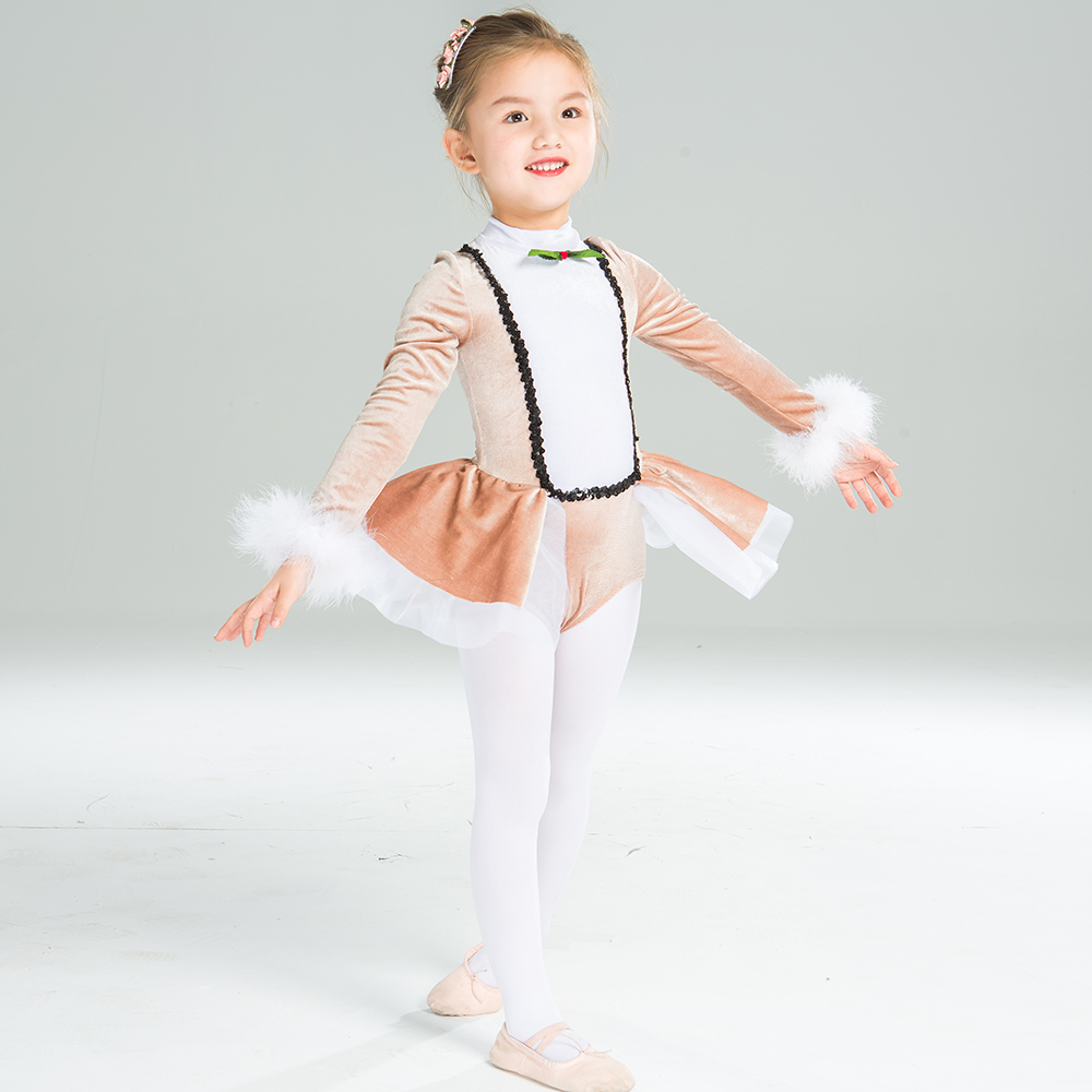 Cute fluffy girls ballet skirt ballet tutu girls kids dance wear for sale