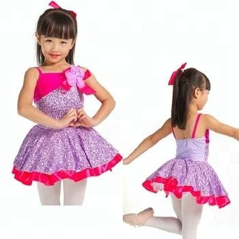 girls ballet performance clothing, kids ballet tutu active costumes for sale