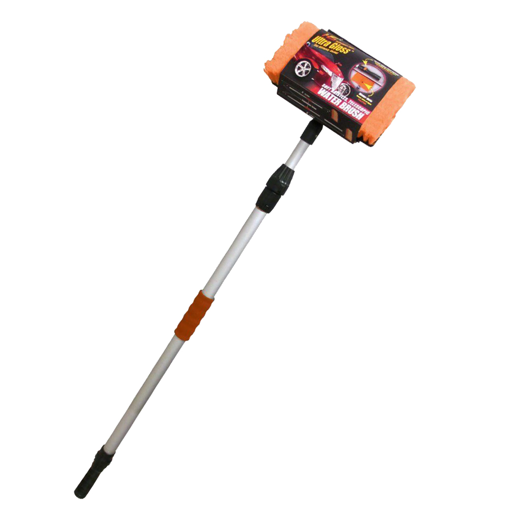 Car Wash Brush with Aluminum Telescopic Handle for sale