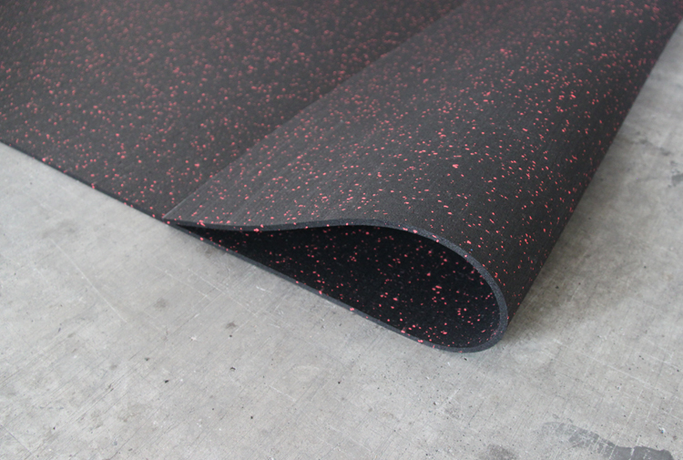EPDM Rubber Mat Cheap Price Durable Fitness Gym Rubber Flooring for sale
